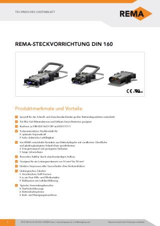 REMA Datenblatt DIN160