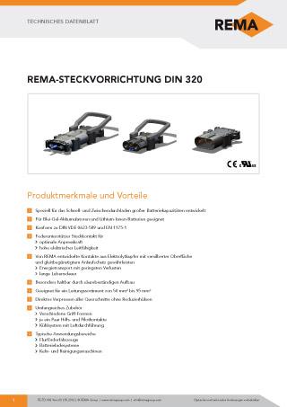 REMA Datenblatt DIN320