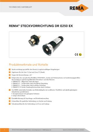 REMA Datenblatt DR-E250-EX