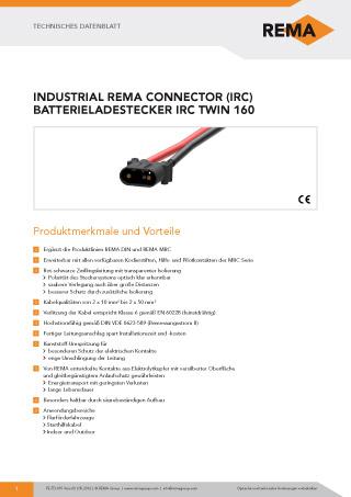 REMA Datenblatt IRC160