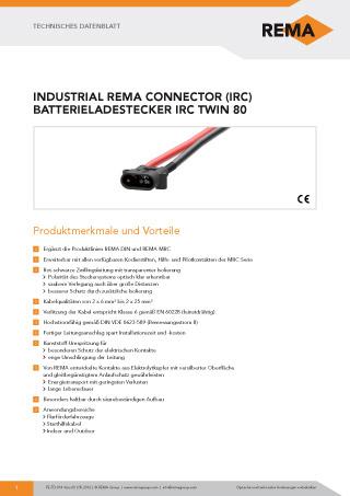 REMA Datenblatt IRC80