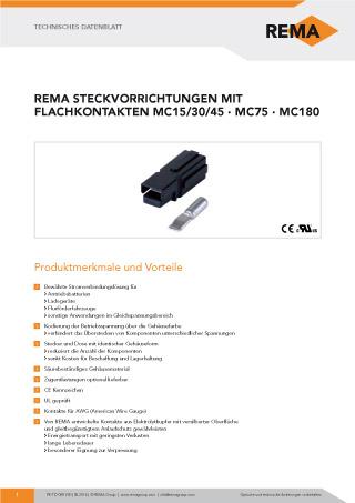 REMA Datenblatt MC15-30-45_75_180