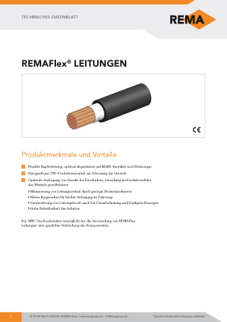 REMA Datenblatt REMAFlex