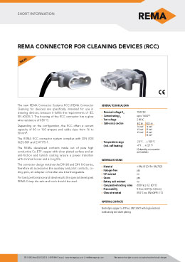 REMA Short-Information RCC