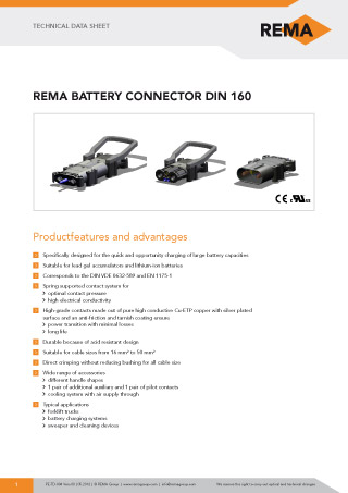 REMA Technical-Data-Sheet DIN160