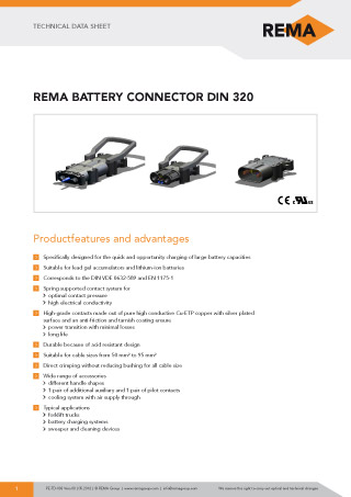 REMA Technical-Data-Sheet DIN320