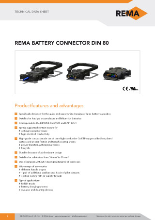 REMA Technical-Data-Sheet DIN80